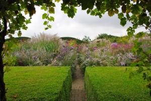 The Autumn Garden at Jardin Plume.