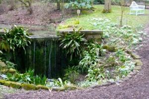 Waterfall at Rode Hall, Cheshire